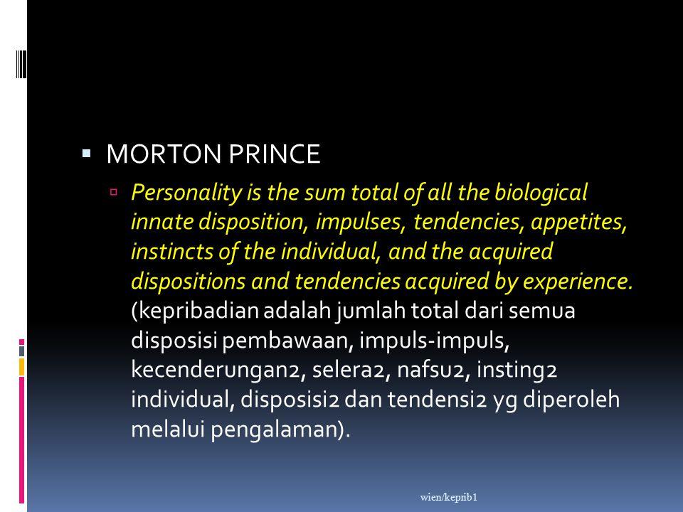 MORTON PRINCE