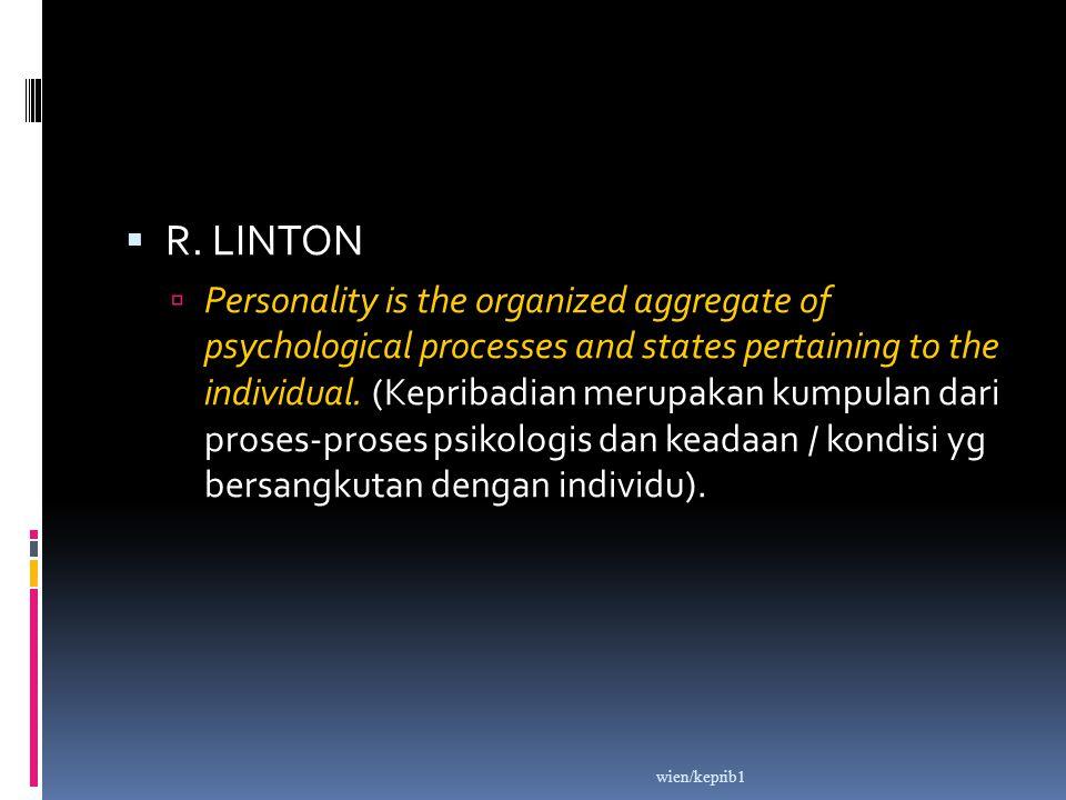 R. LINTON