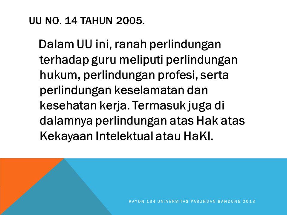 UU No. 14 tahun 2005.