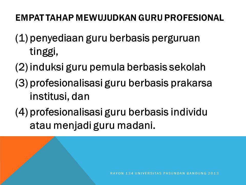 Empat Tahap Mewujudkan Guru Profesional