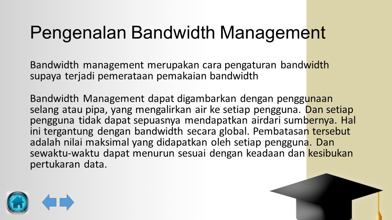 Pengenalan Bandwidth Management