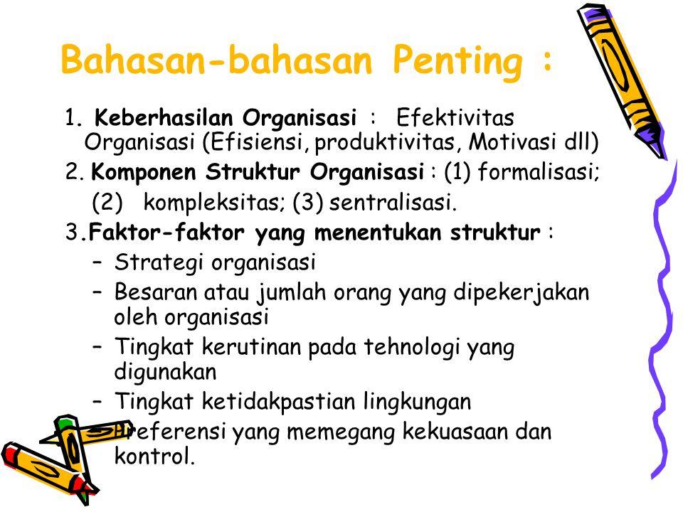 Bahasan-bahasan Penting :