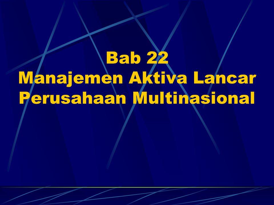 Bab 22 Manajemen Aktiva Lancar Perusahaan Multinasional