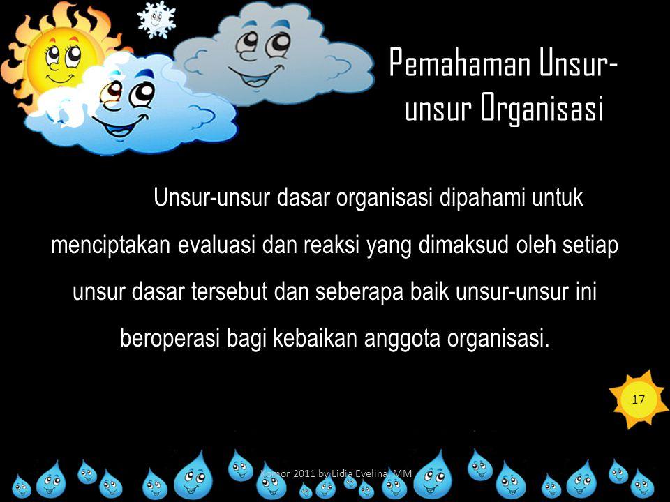 Pemahaman Unsur-unsur Organisasi