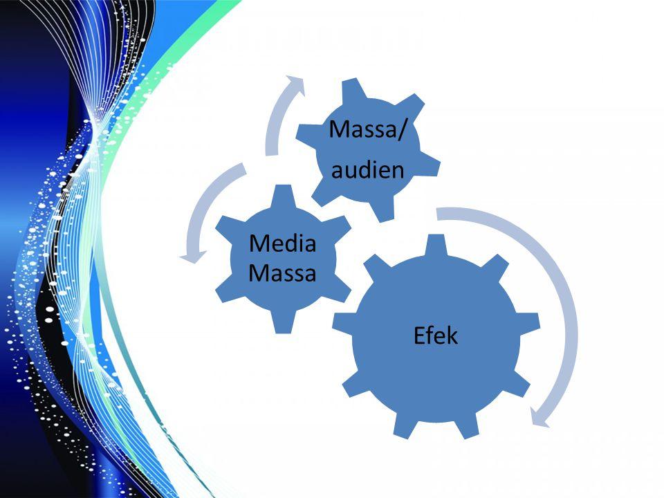 Efek Media Massa audien Massa/