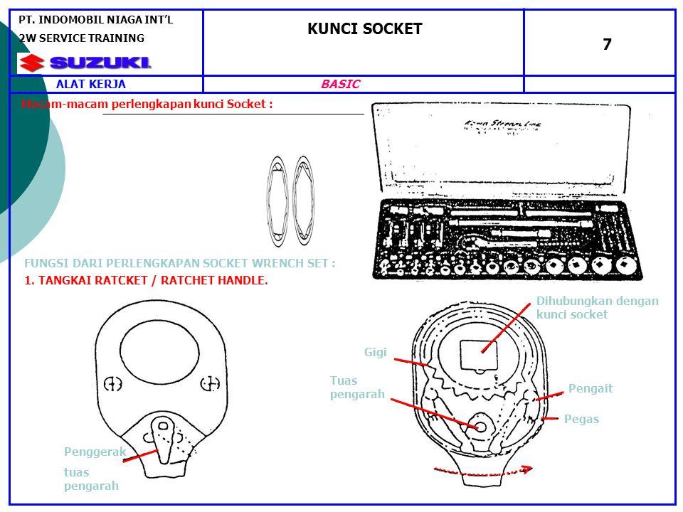KUNCI SOCKET 7 BASIC ALAT KERJA