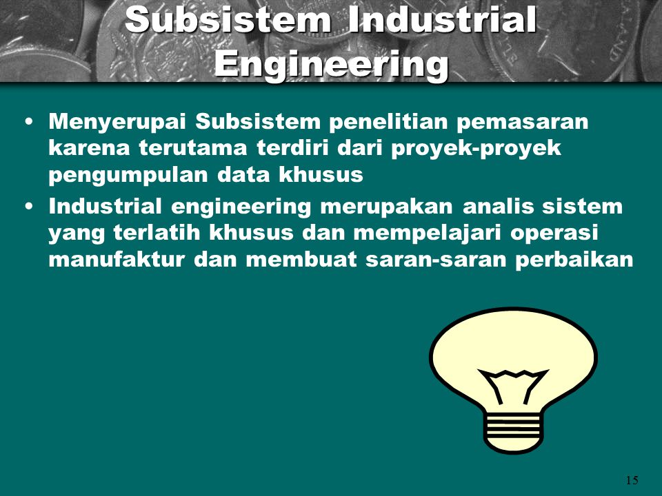 Subsistem Industrial Engineering
