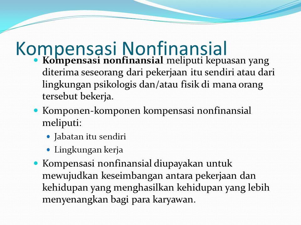 Kompensasi Nonfinansial
