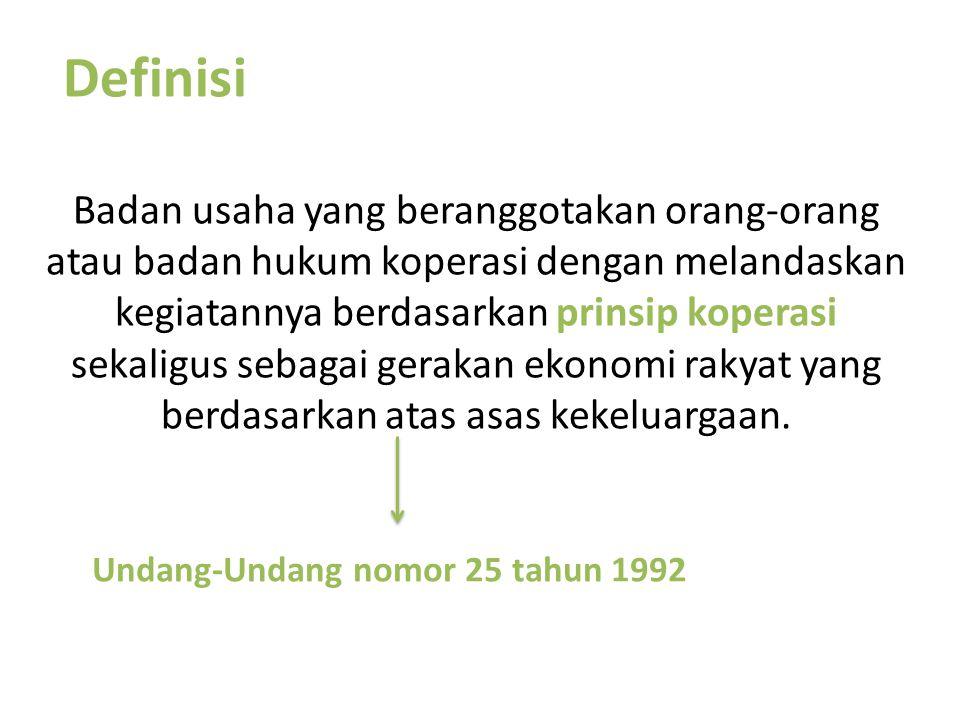 Undang-Undang nomor 25 tahun 1992