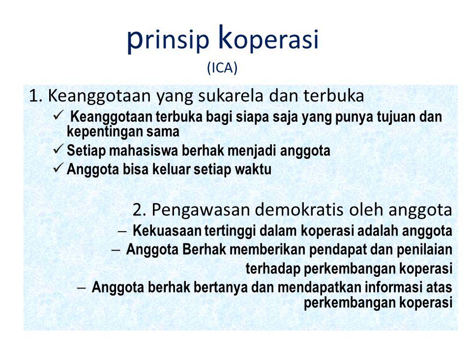 prinsip koperasi (ICA)
