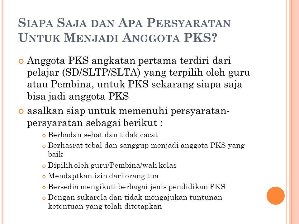 Siapa Saja dan Apa Persyaratan Untuk Menjadi Anggota PKS