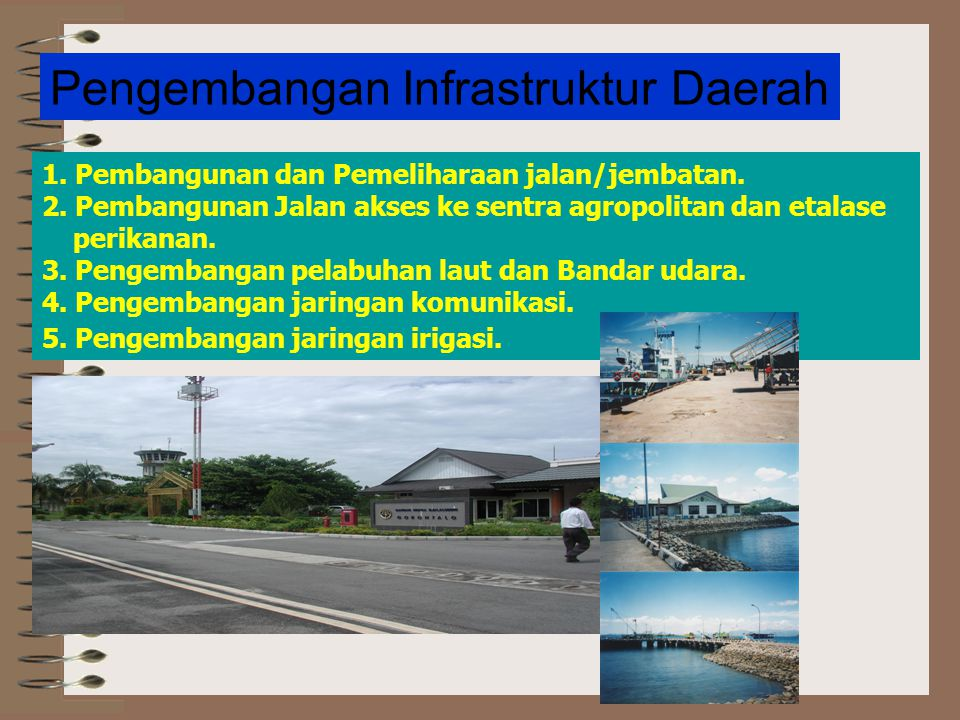 Pengembangan Infrastruktur Daerah