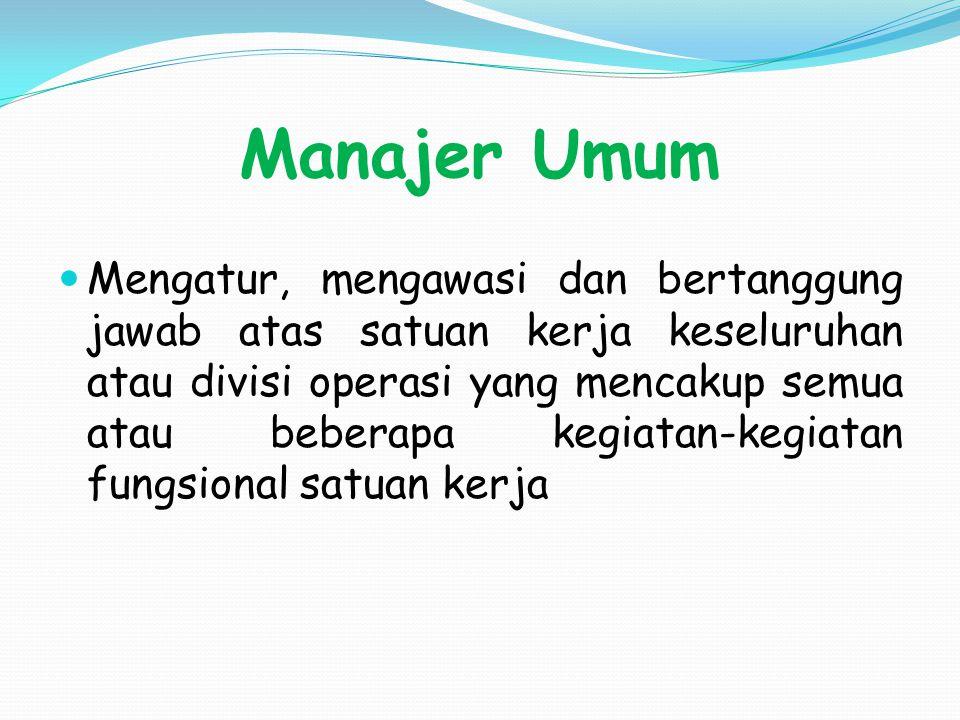 Manajer Umum