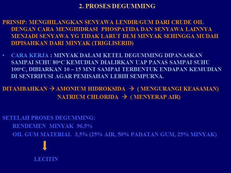 2. PROSES DEGUMMING