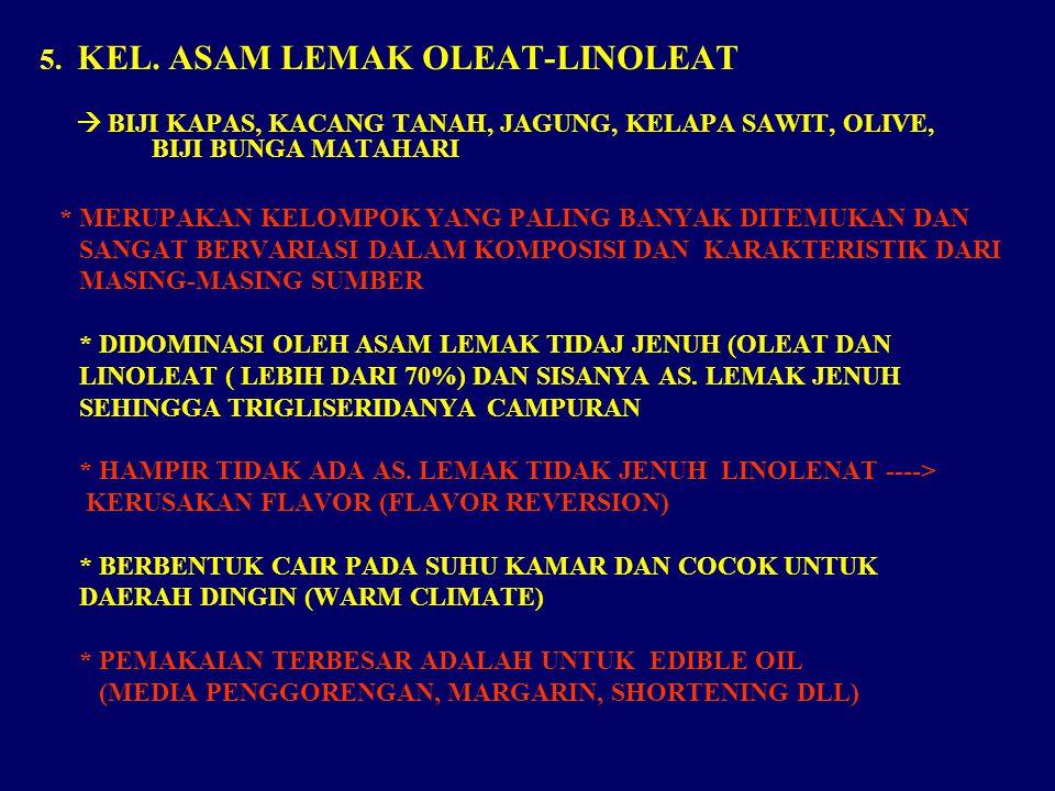 5. KEL. ASAM LEMAK OLEAT-LINOLEAT