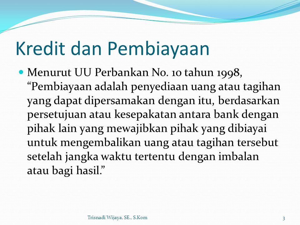 Kredit dan Pembiayaan