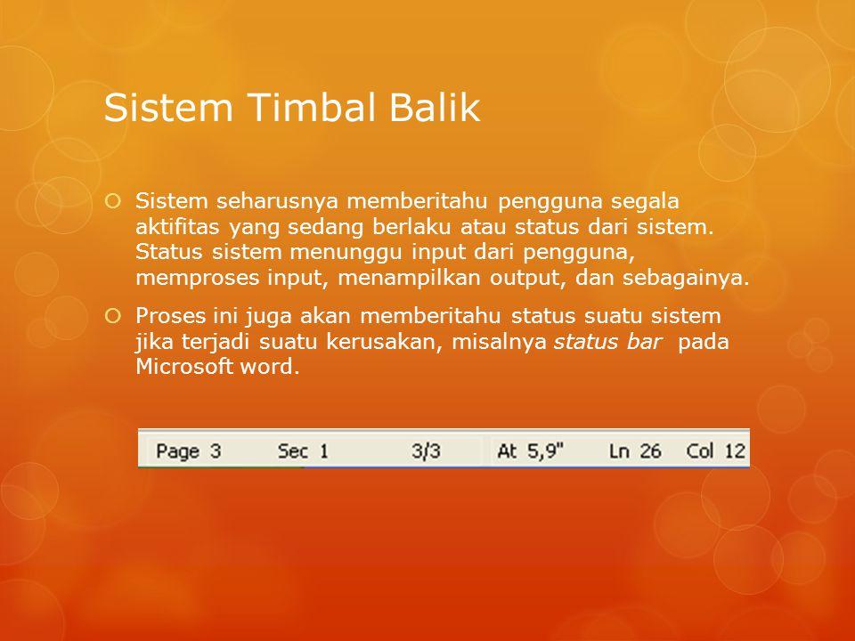 Sistem Timbal Balik