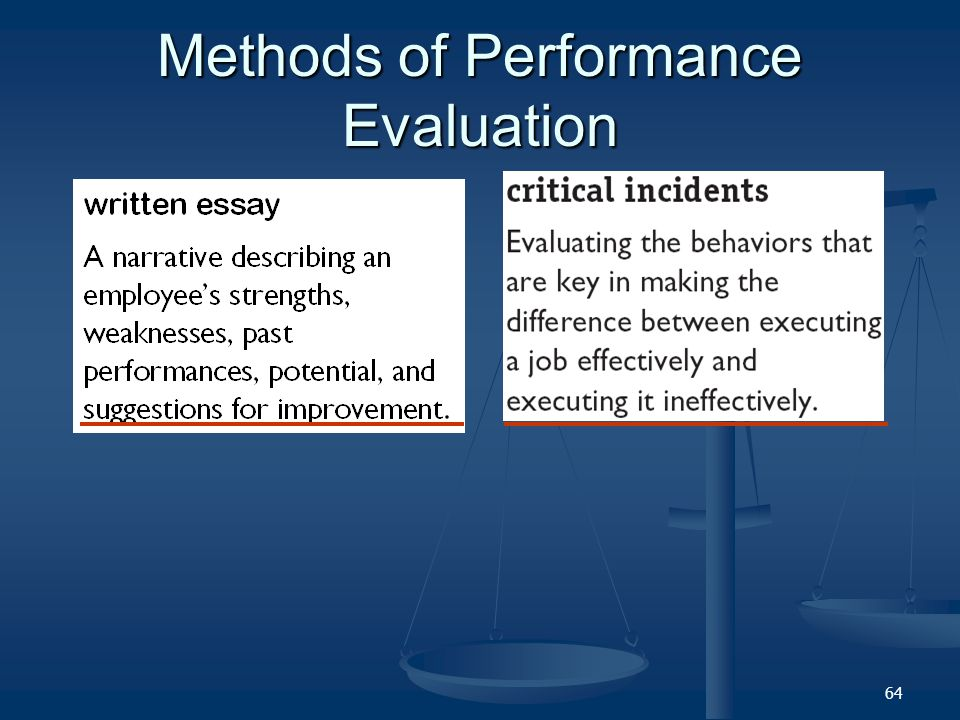 written essay performance evaluation Choosing a Topic