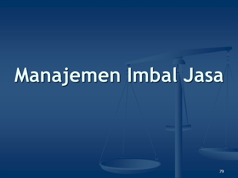 Manajemen Imbal Jasa