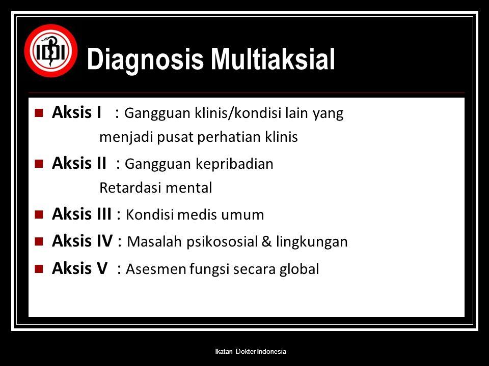 Diagnosis Multiaksial