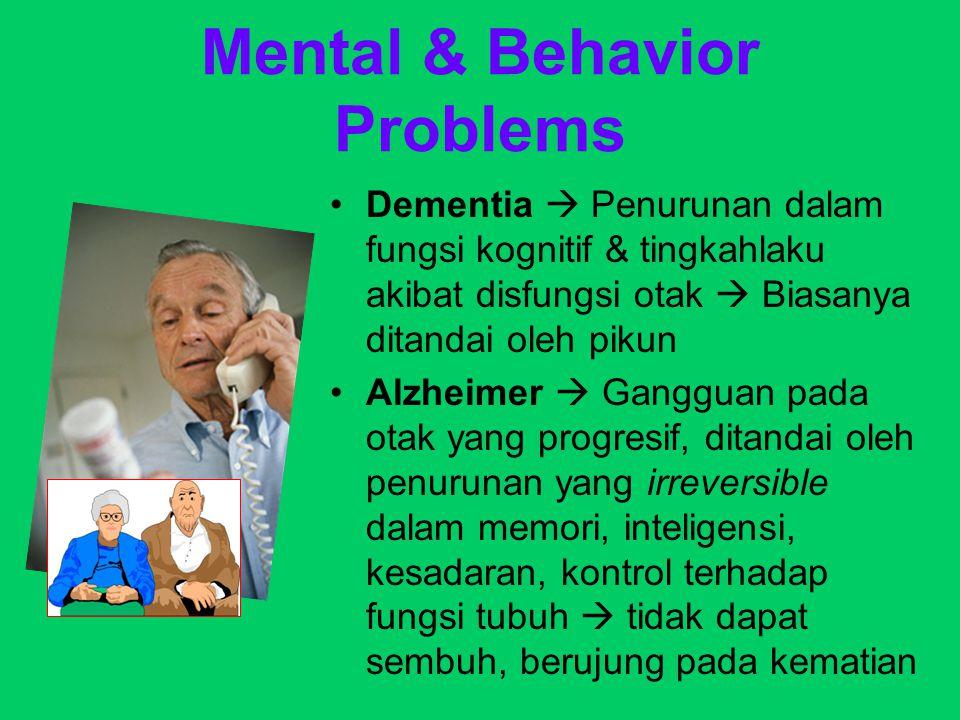 Mental & Behavior Problems