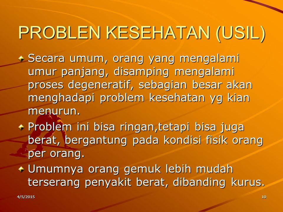 PROBLEN KESEHATAN (USIL)