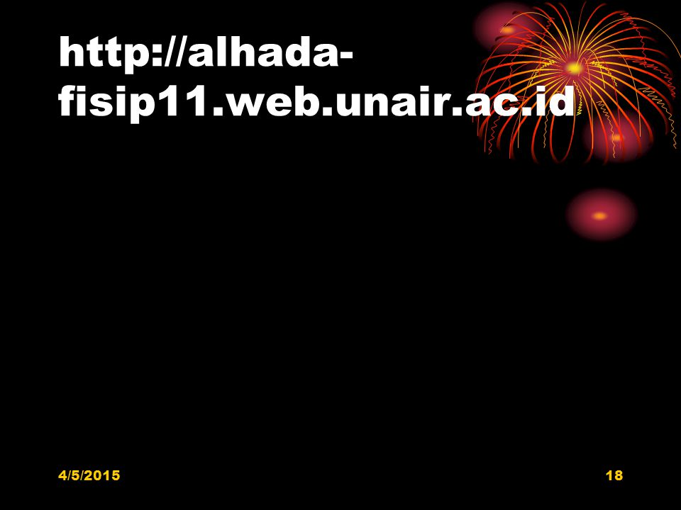 http://alhada-fisip11.web.unair.ac.id 4/9/2017