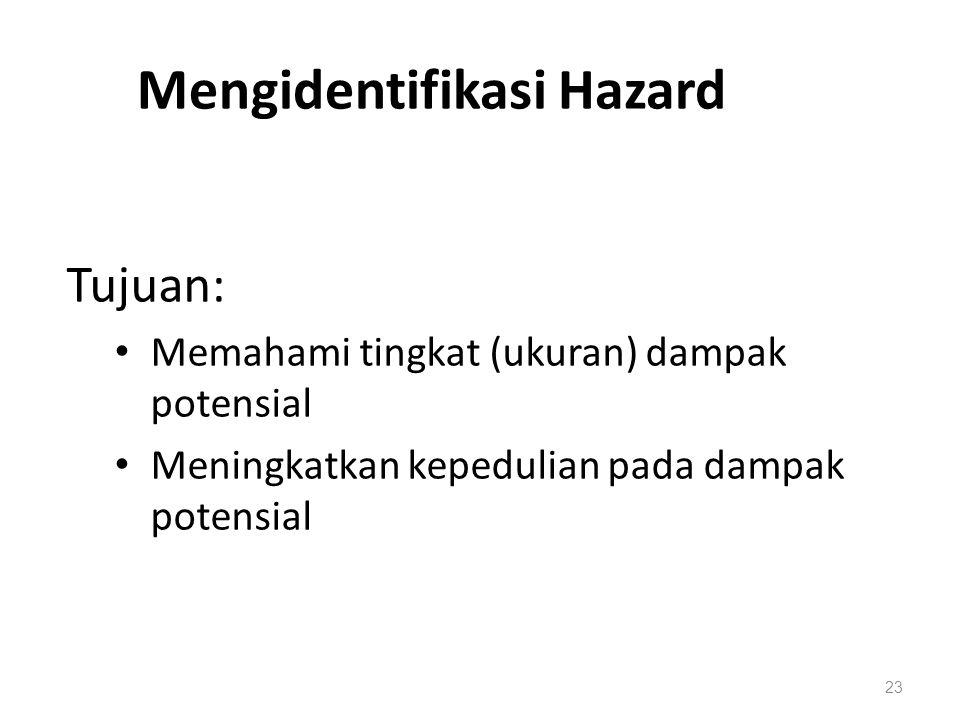 Mengidentifikasi Hazard