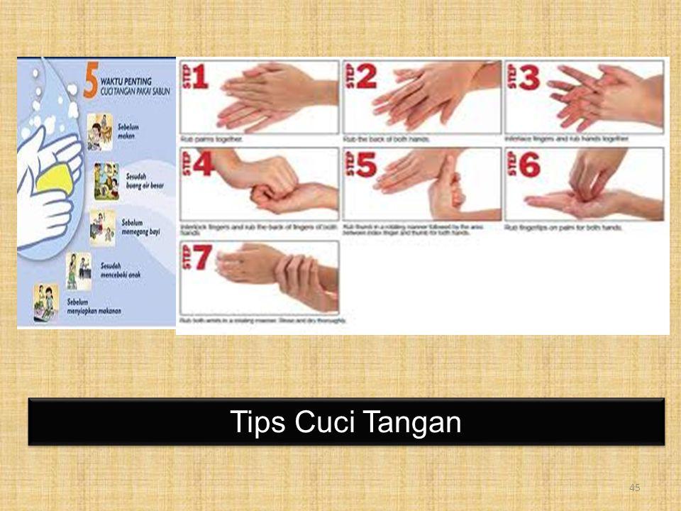 Tips Cuci Tangan