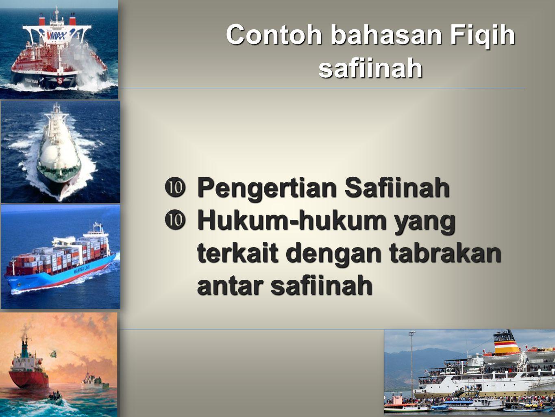 Contoh bahasan Fiqih safiinah
