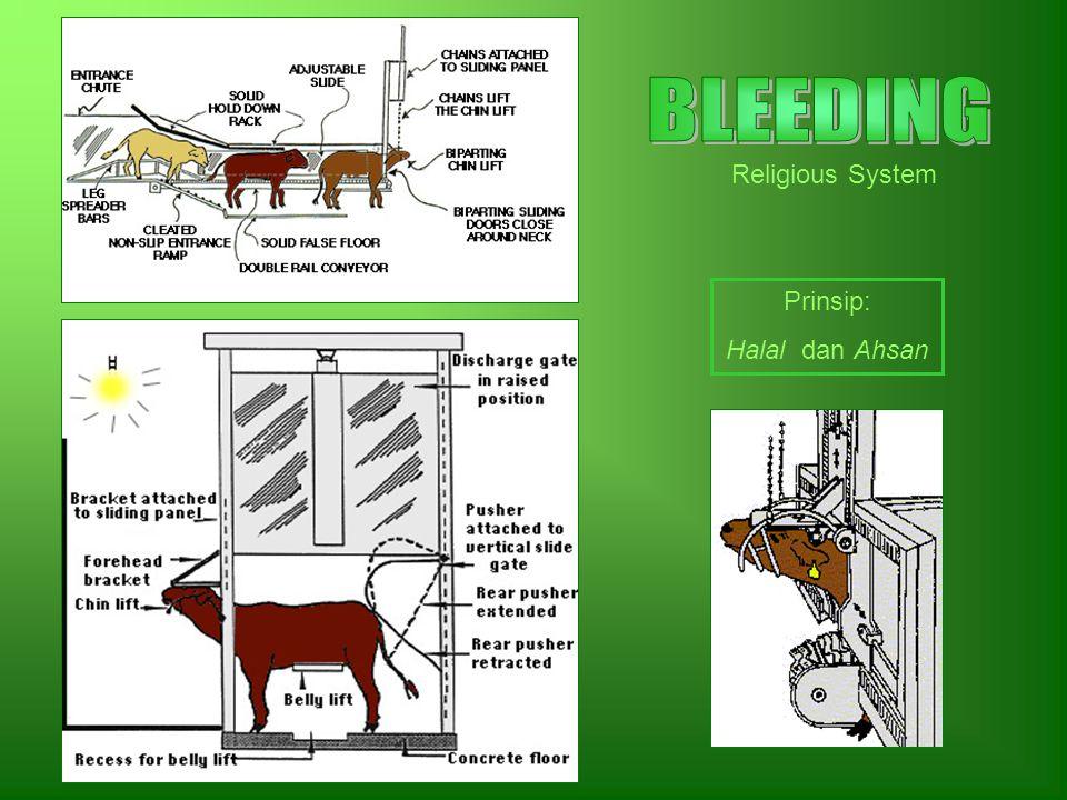 BLEEDING Religious System Prinsip: Halal dan Ahsan