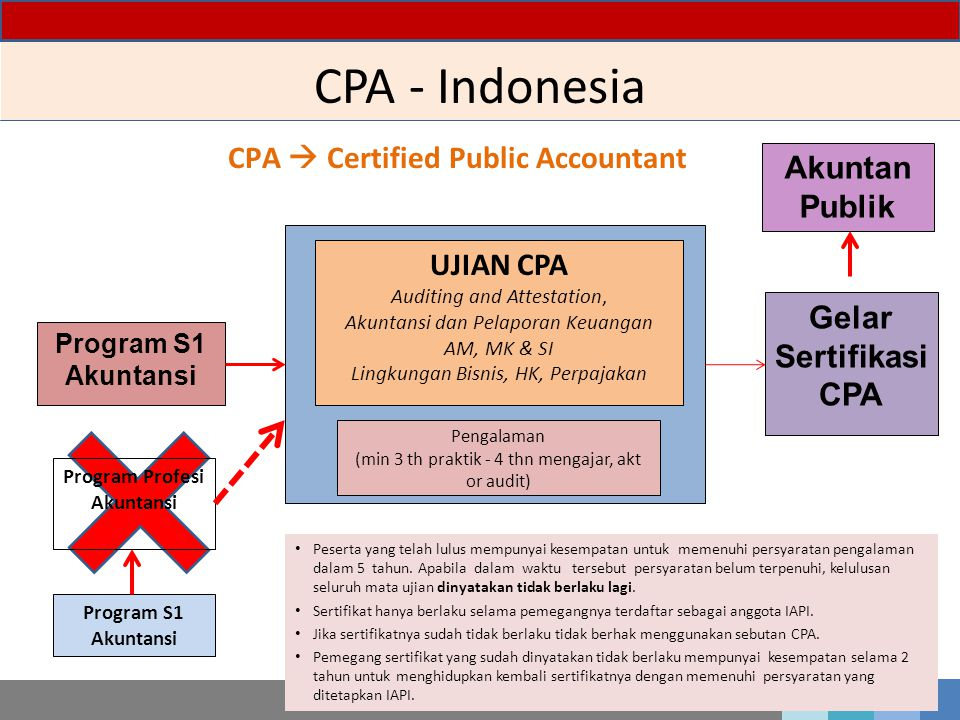 CPA  Certified Public Accountant Program Profesi Akuntansi