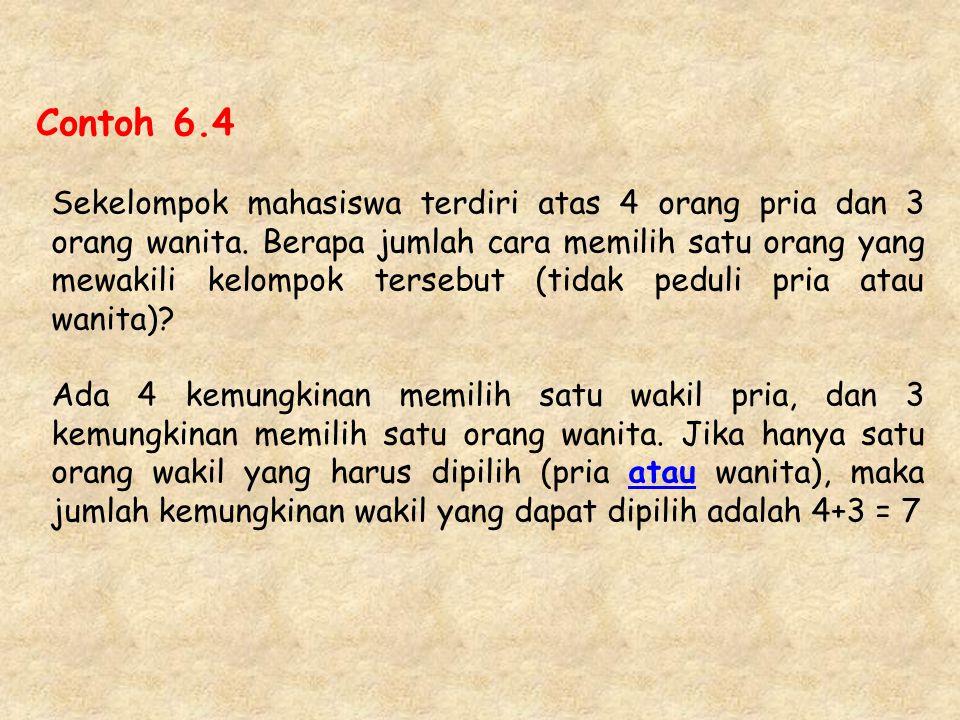 Contoh 6.4