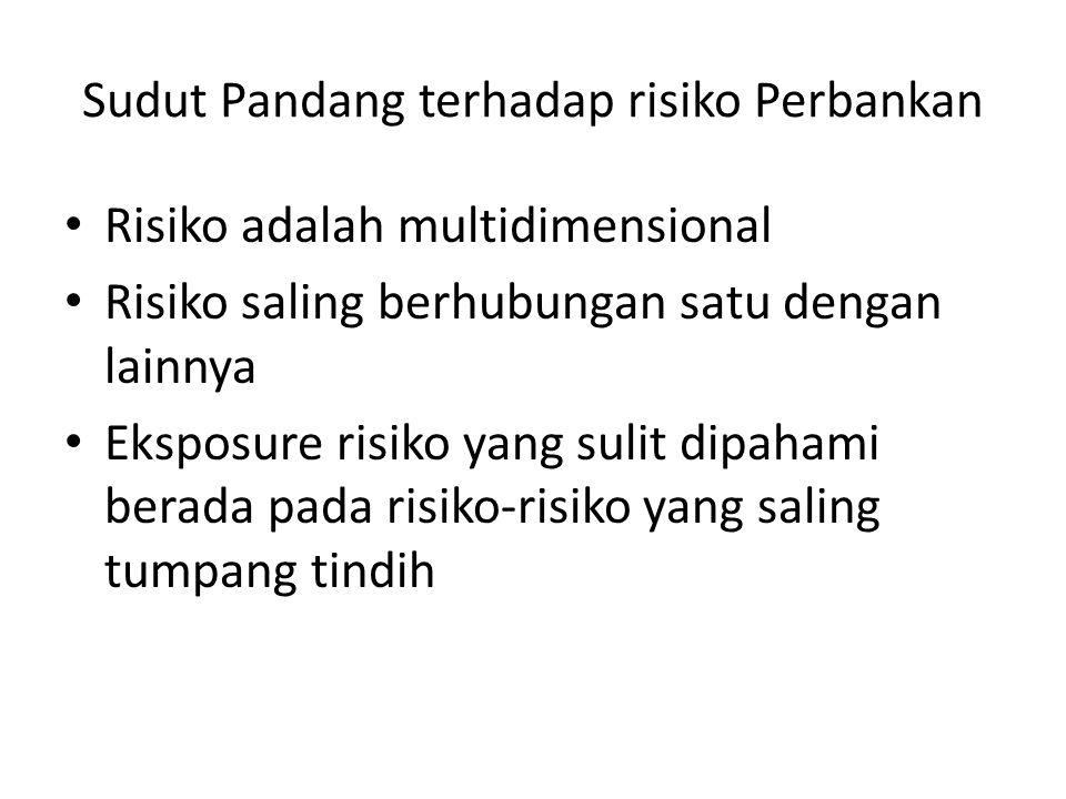 Sudut Pandang terhadap risiko Perbankan