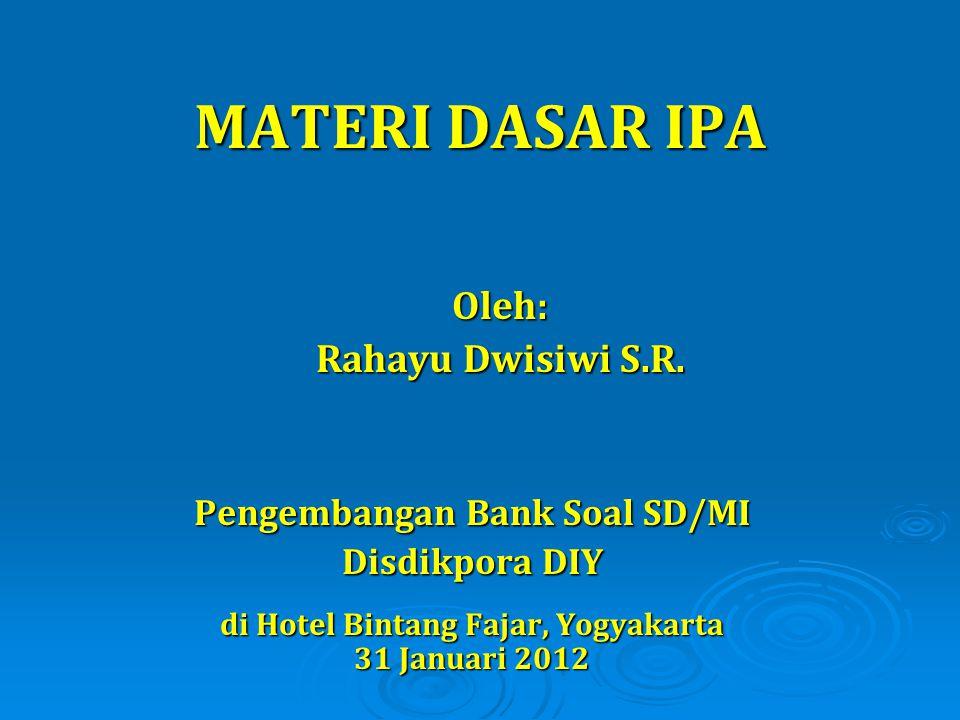 Pengembangan Bank Soal SD/MI di Hotel Bintang Fajar, Yogyakarta