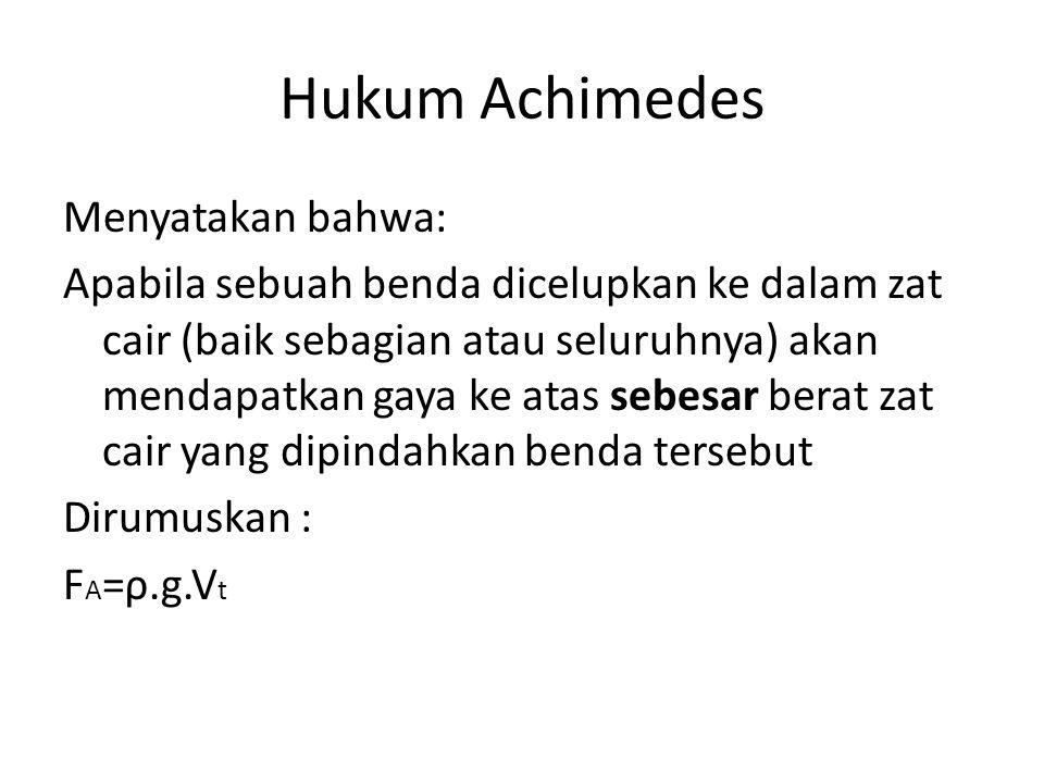 Hukum Achimedes