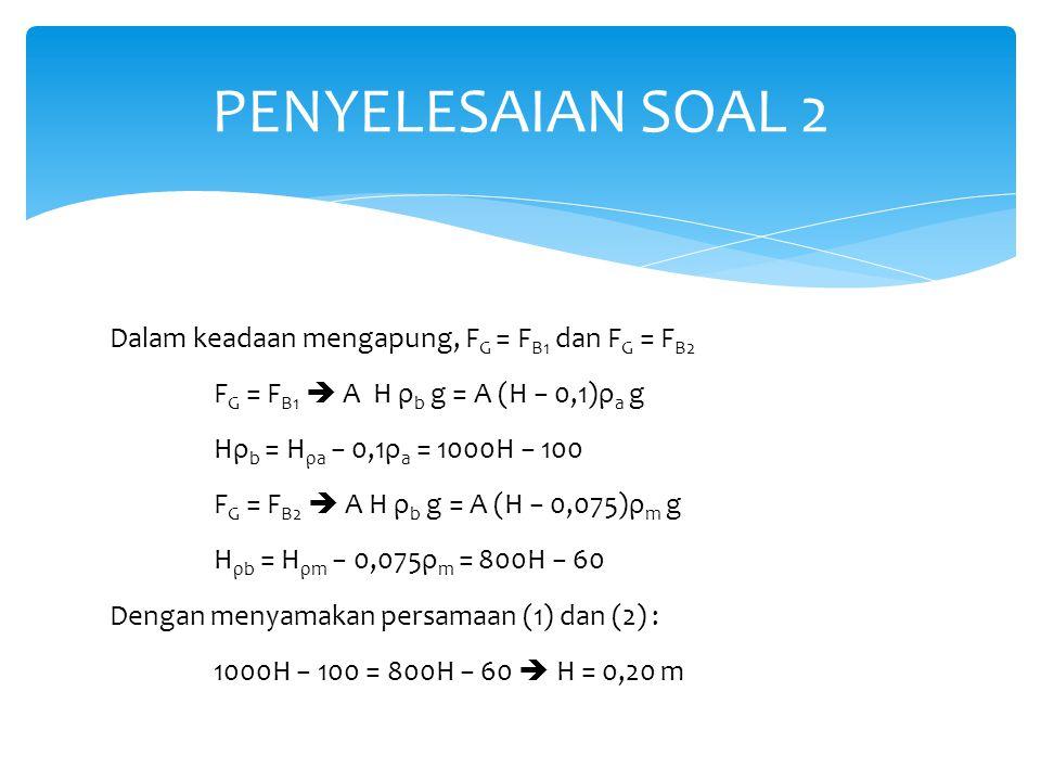PENYELESAIAN SOAL 2
