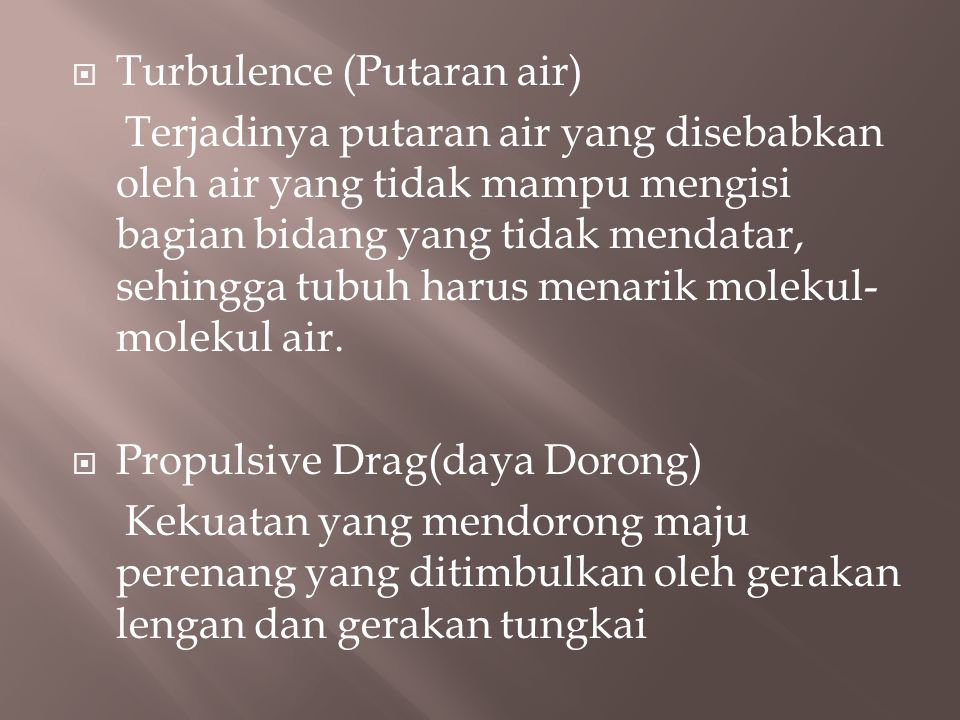 Turbulence (Putaran air)
