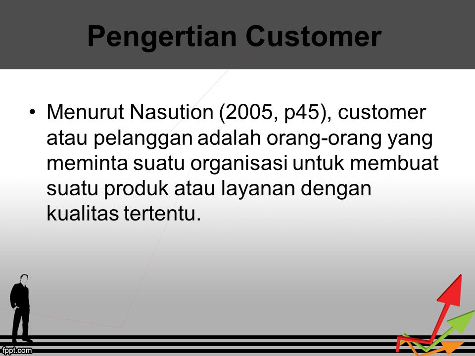 Pengertian Customer