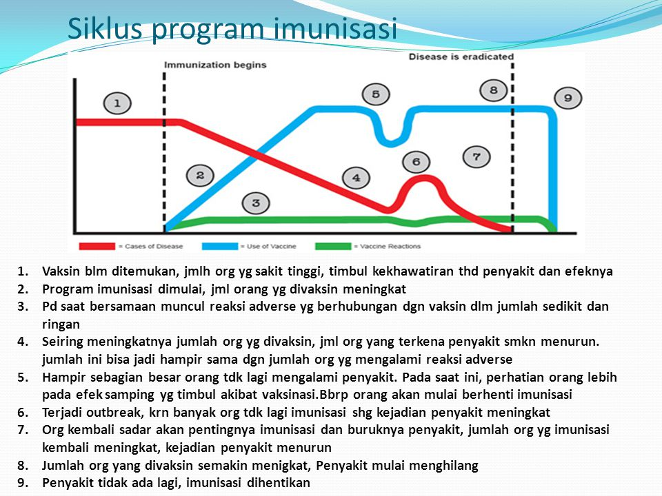 Siklus program imunisasi