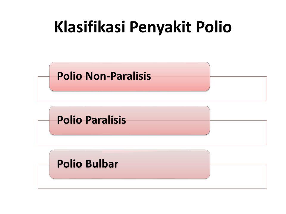 Klasifikasi Penyakit Polio