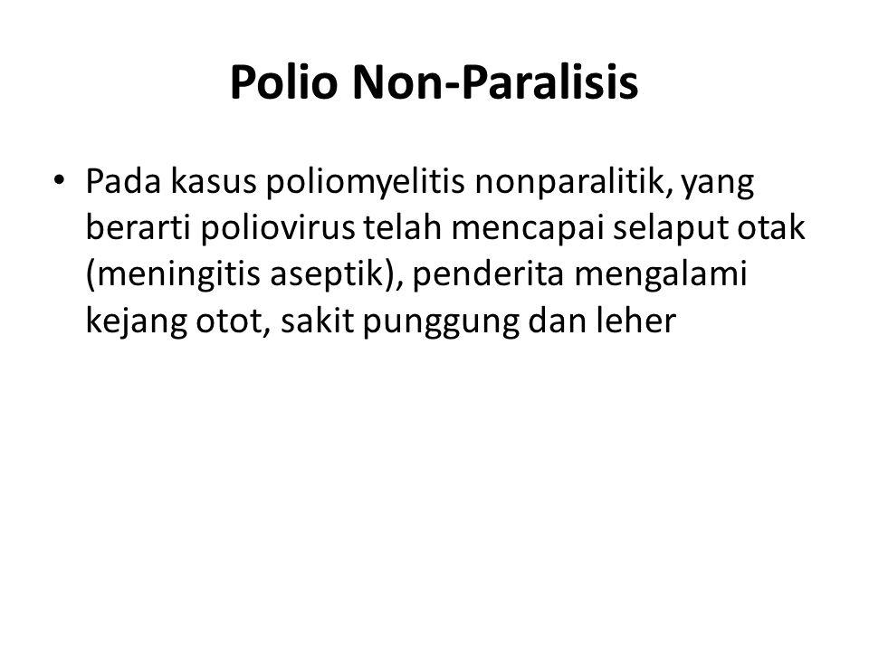 Polio Non-Paralisis