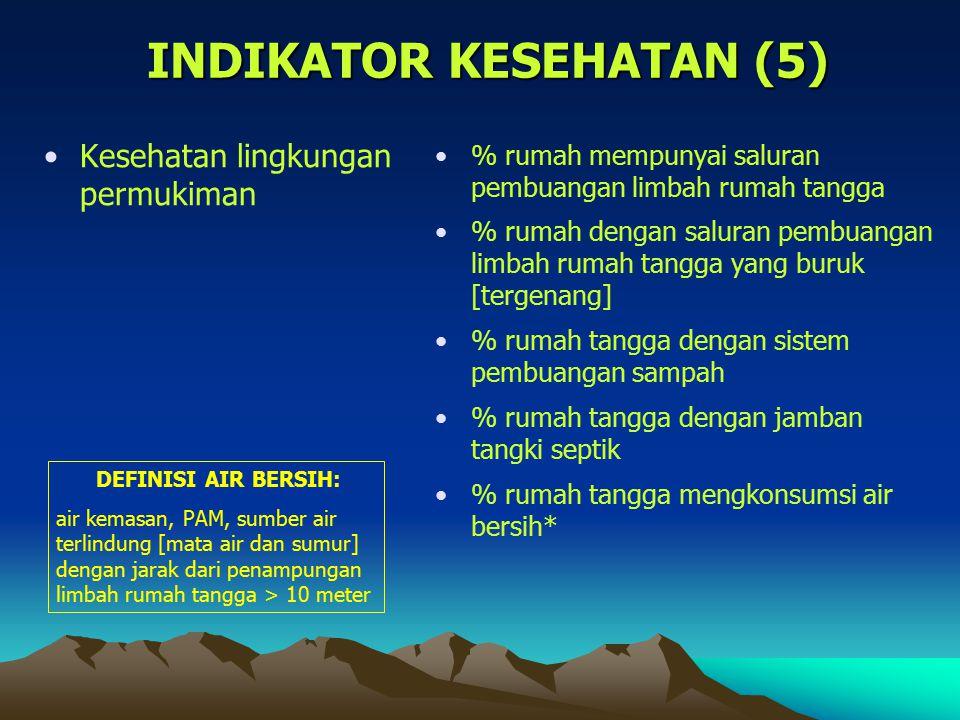 INDIKATOR KESEHATAN (5)