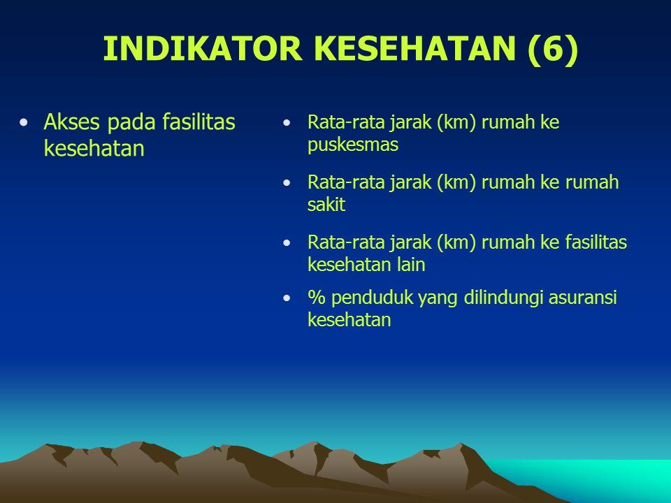 INDIKATOR KESEHATAN (6)