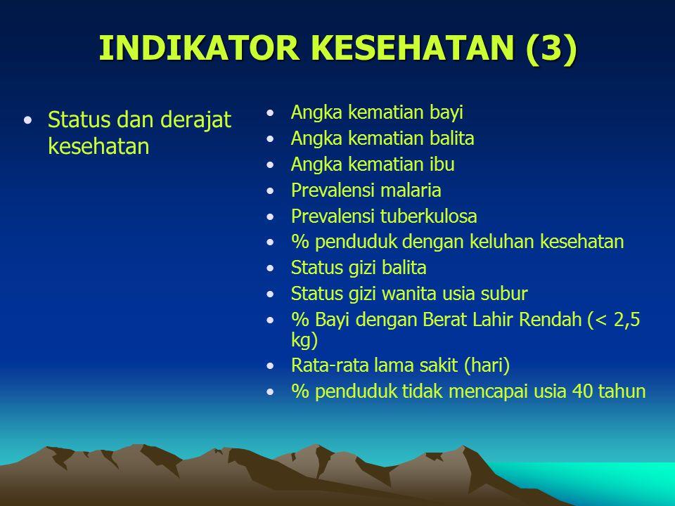 INDIKATOR KESEHATAN (3)