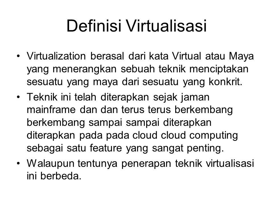 Definisi Virtualisasi