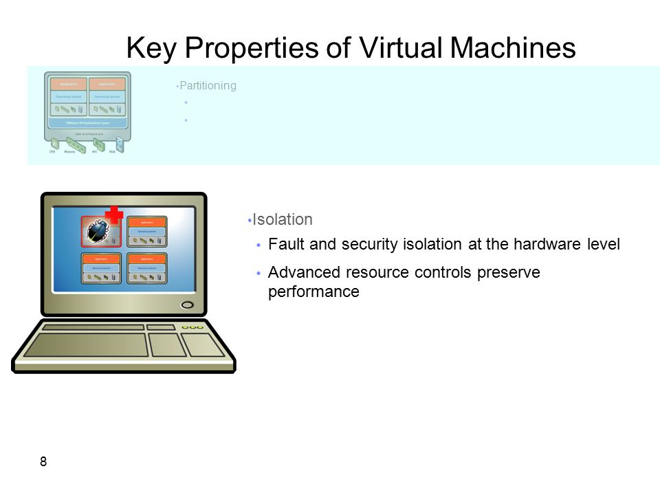 Key Properties of Virtual Machines