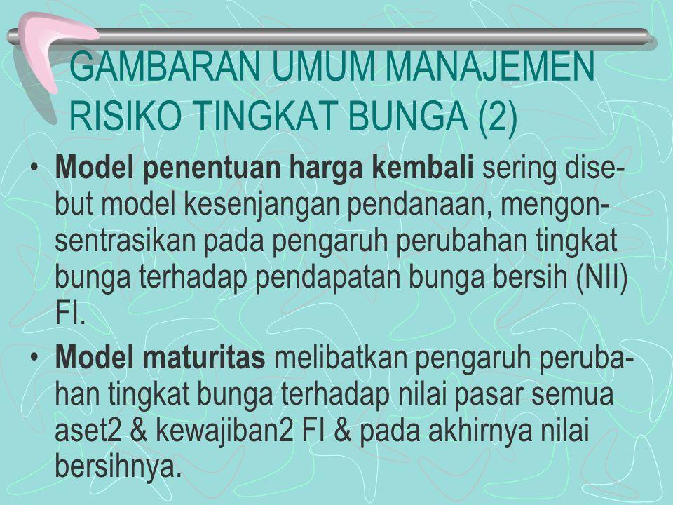 GAMBARAN UMUM MANAJEMEN RISIKO TINGKAT BUNGA (2)