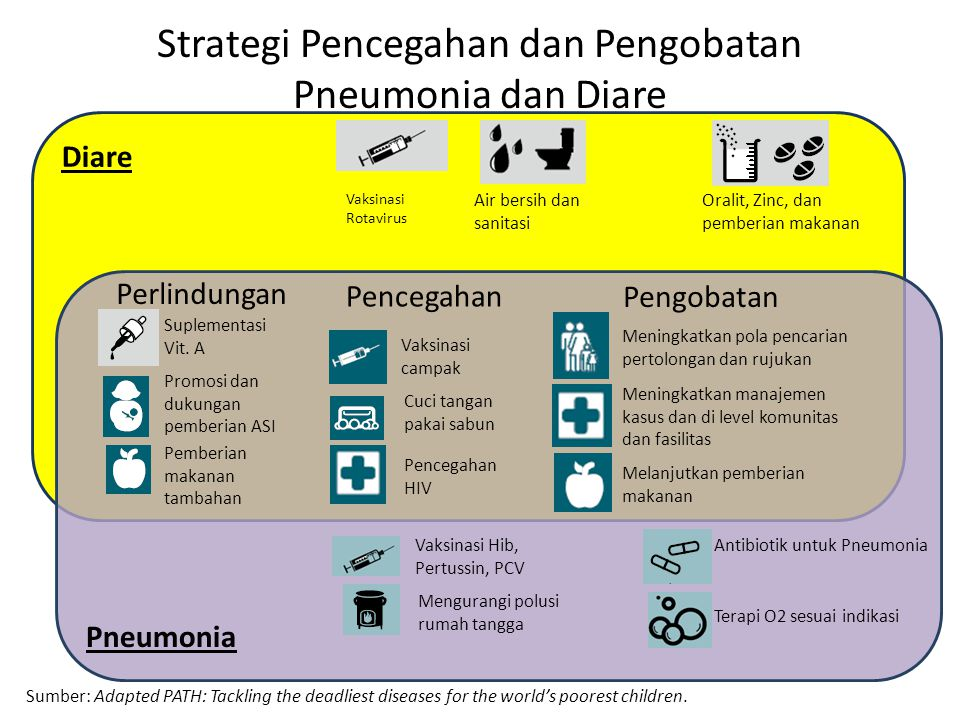 Strategi Pencegahan dan Pengobatan Pneumonia dan Diare