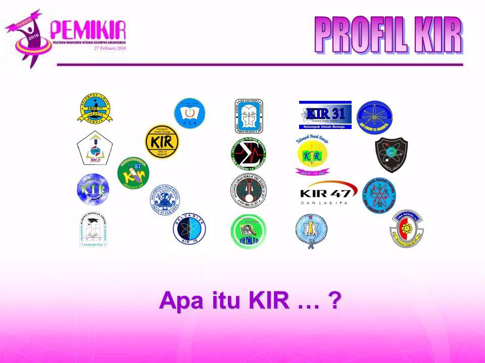PROFIL KIR Apa itu KIR …